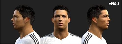 PES Face And Hair Cristiano Ronaldo CR Terbaru PES - Download hair cristiano ronaldo pes 2013